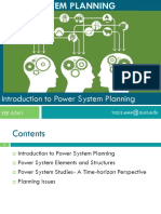 Lecture 1_Introduction to Power System Planning