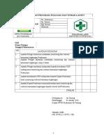 4. Bukti Pelaksanaan Program, Evaluasi, dan Tindak Lanjut.doc