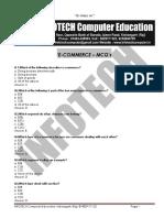 E-Commerce MCQ INFOTECH 200 Questions.pdf