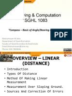 Module 3@SGHL1083_Feb2014 - Distances + Compass