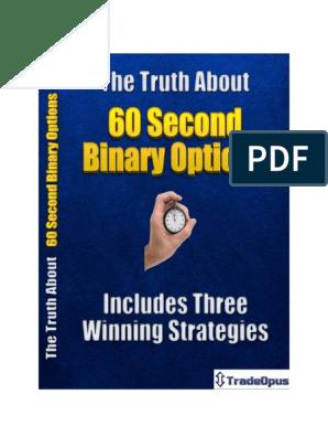 60 second binary options strategy pdf professional football betting tipsters prognozi