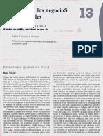 Negocios Internacionales Cap. 13