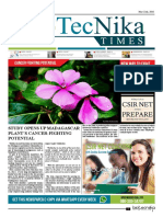 Biotecnika - Newspaper 22 May 2018