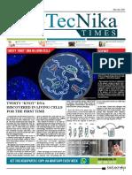 Biotecnika - Newspaper 2 May 2018