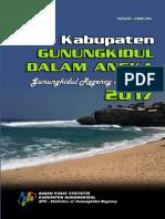 Kabupaten Gunung Kidul Dalam Angka 2017