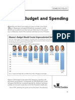 Federal Budget and Spending