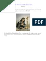 Santa Mariana de Jesus Paredes, Virgen (26 de Mayo)