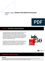 2018 Digital Video Viewers and Brand Connection Final
