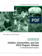 Promising Practices - Children, Communities, And Care (PC3) Program - Ethiopia