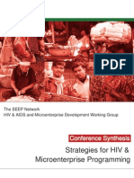 Strategies in ME and HIV Programming - Online Conference Synthesis