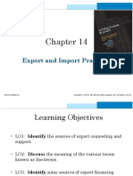 IIB - Slides - Export and Import Practices - Lesson 9