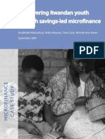 CRS Empowering Rwandan Youth Through Savings-Led Micro Finance