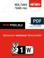 Owners Manual Mrx Smx Pro 50 (Esp Fra Eng)