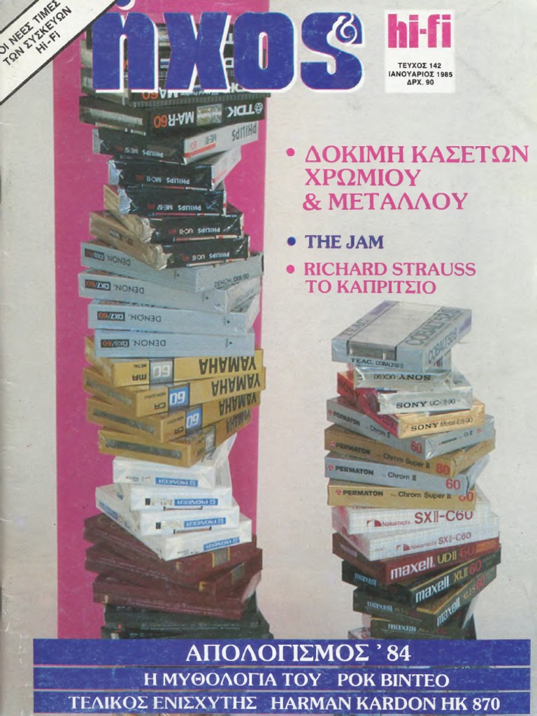 ea0ea477fe5 ΗΧΟΣ & HiFi 1985, ΜΕΡΟΣ Α' (#142-145)