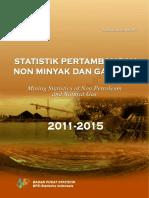 Statistik Pertambangan Nonminyak Dan Gas Bumi