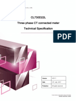 CL730D22L Technical Specification v03-11