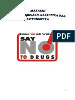 Narkoba Dan Bahaya Nya