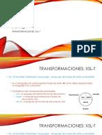 Transformaciones XML