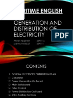 Generation and Distribution of Electricity