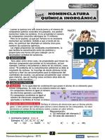 NOMENCLATURA INORGANICA-2013