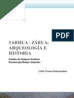 SARHUA - ZÁRUA  ARQUEOLOGÍA E HISTORIAl