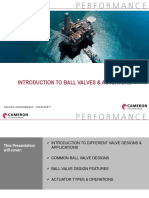 0. Introduction to Ball Valves & Actuators Print Version