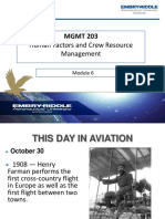 Oct 30 - Module 6 Mgmt 203 Hf and Crm