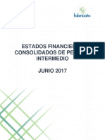 Financial Estatements Consolidated 2q17