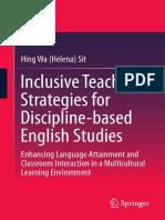 Inclusive Teaching Strategies Book