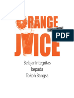 Buku Orange Juice - KPK