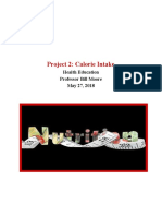 hatch felisha project 2  calorie intake  1