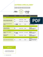 Brochure Du Programme skema MS