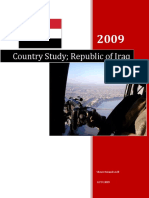 Iraq Country Study, 2007