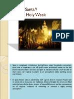 Spanish Holy Week