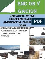 Informe de Contaminacion Ambiental en La Ciudad de Huaraz