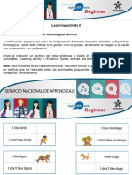 Actividad - Sports, animals and technological devices.ppt
