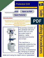 !Bench Pedestal Drill Instruction
