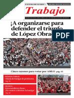Periódico de la antigua Lom mexicana