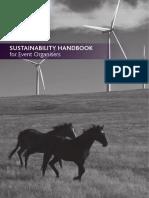 FEI Sustainability Handbook for Event Organisers
