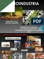 Agroindustria  2018
