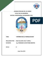 Criterios de La Formalizacion