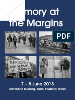 Memory at the Margins Final Programme