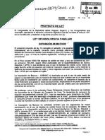 Proyecto de Ley de Insolvencia Familiar