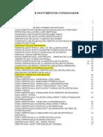Listas de Documentos Consignados