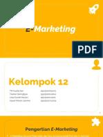 PPT Pemasaran Internasional (E-Marketing)