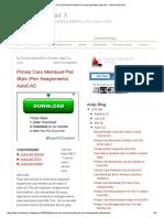 Prinsip Cara Membuat Plot Style (Pen Assignments) AutoCAD _ Tutorial Autocad X