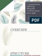 Comprehensive Mental Health Action Plan