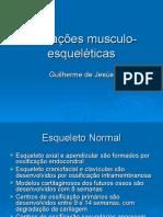 Alterações+musculo-esqueléticas