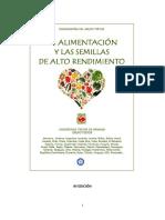 LA ALIMENTACION Y LAS SEMILLAS 9EdAbrIL2018