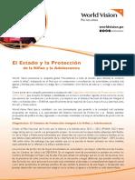 Estudio El Estado y la Protección de la Niñez